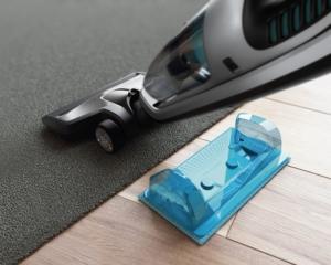 Philips PowerPro Aqua FC6408 Wischaufsatz mit Magnet
